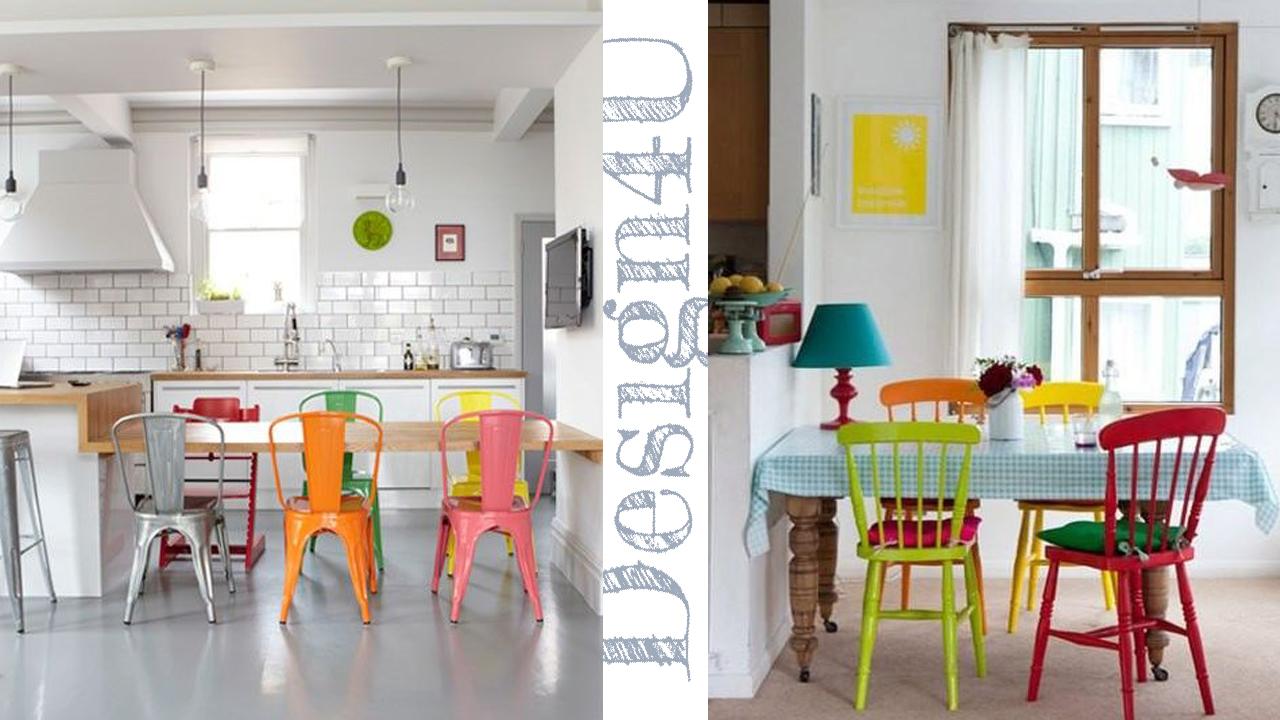 Dipingere Sedie Di Legno sedie diverse – mix chair – design4u