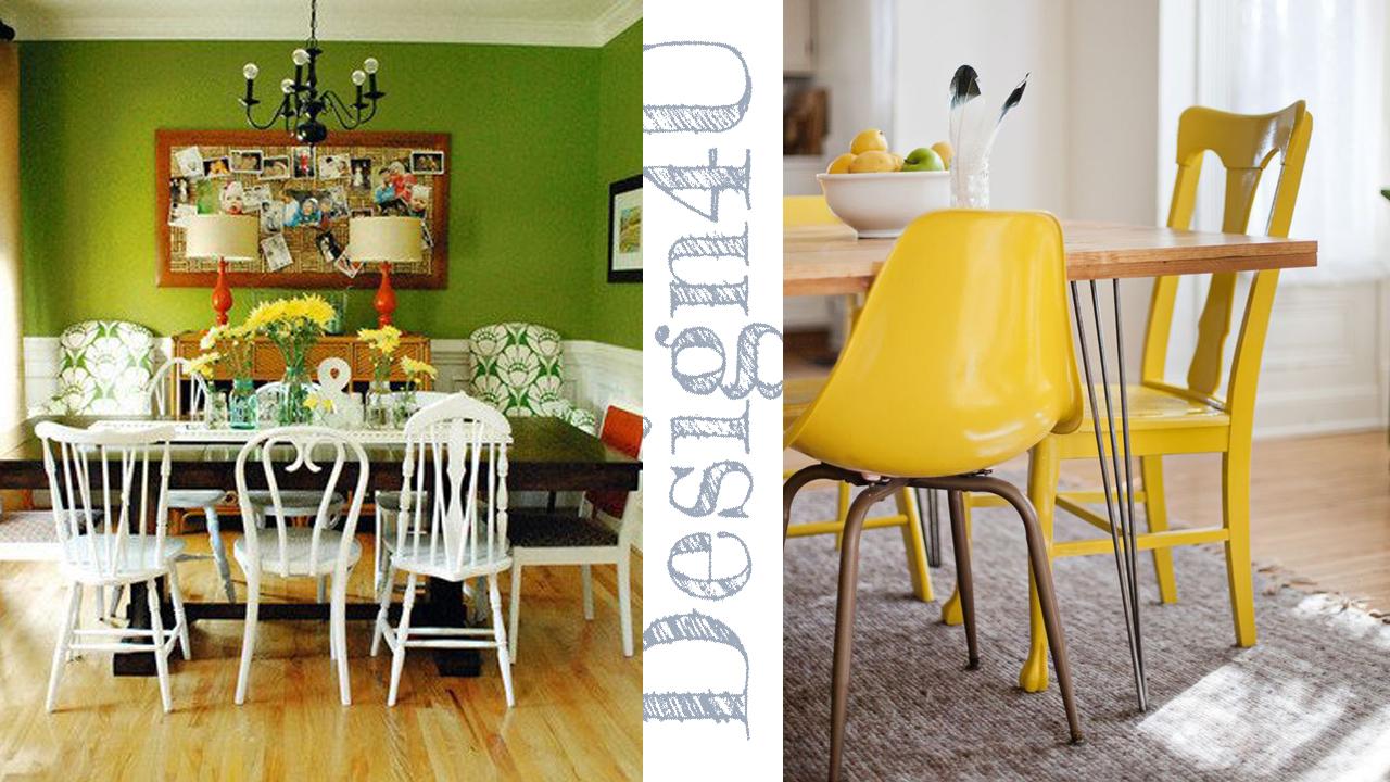 Come Abbinare Sedie Diverse sedie diverse – mix chair – design4u