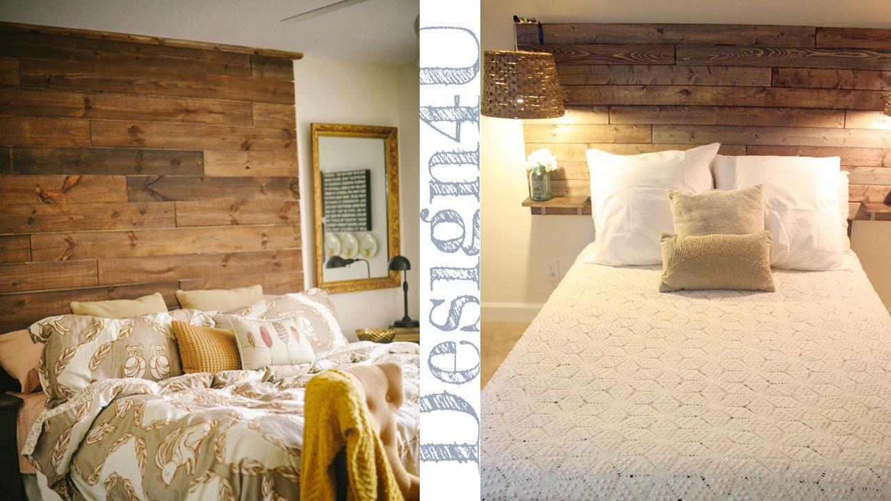 Testata del letto headboard design4u - Come costruire un letto contenitore ...