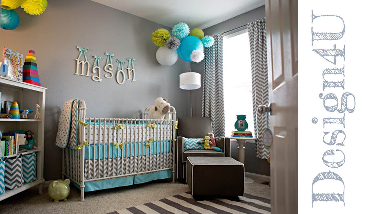 Idee per camerette neonati nursery design4u for Idee camera