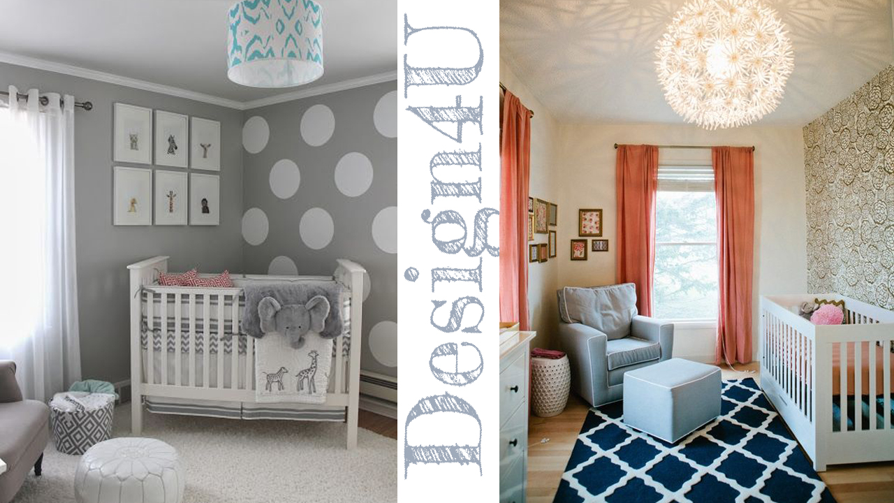 Idee per camerette neonati nursery design4u for Decorare la camera in stile tumblr