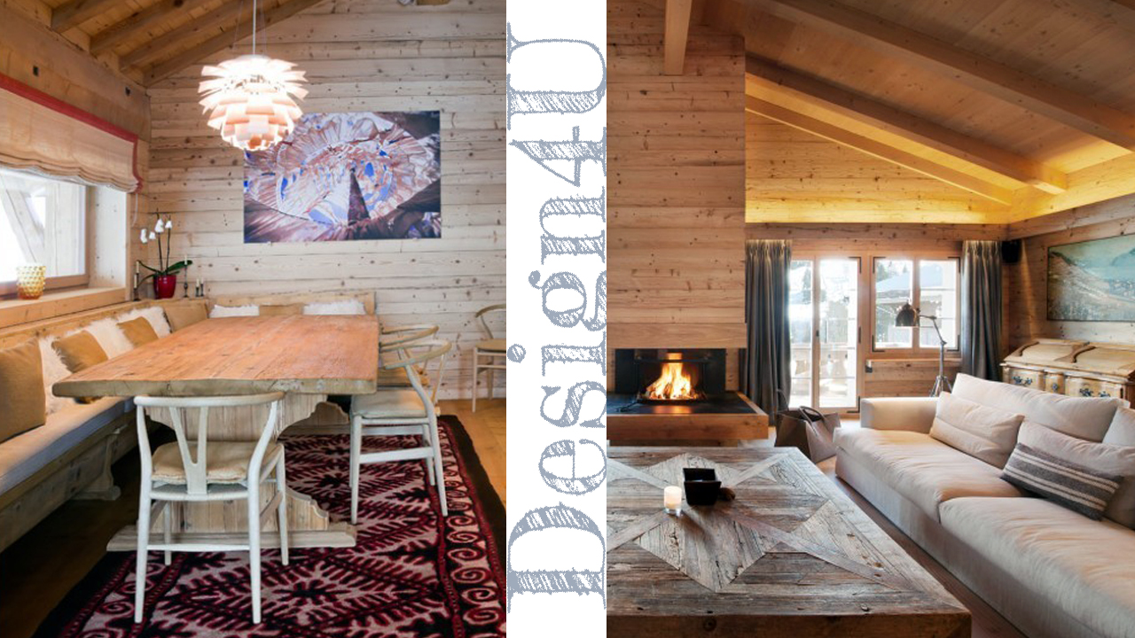 Arredare la casa in montagna chalet interior design4u for Progettare interni