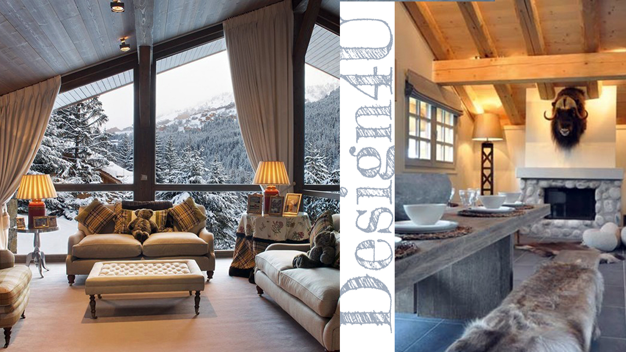 Arredare la casa in montagna chalet interior design4u for Casa in stile moderno