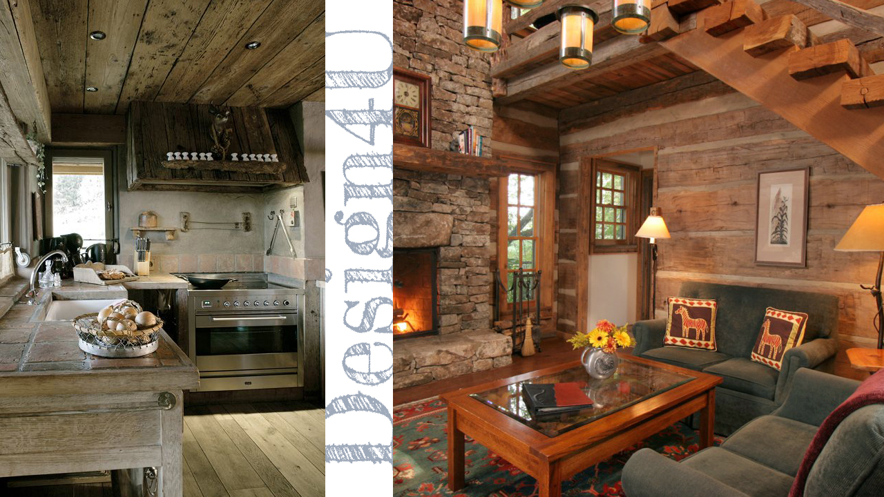 Arredare la casa in montagna chalet interior design4u for Foto case da sogno