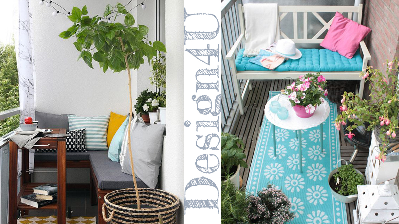Come arredare un balcone decorate a balcony design4u for Arredare balcone ikea