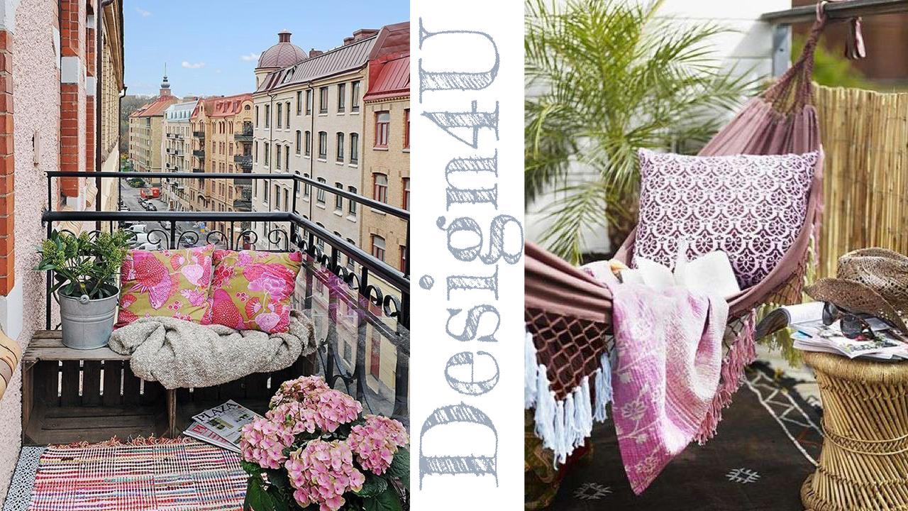 Come arredare un balcone – Decorate a balcony – Design4U