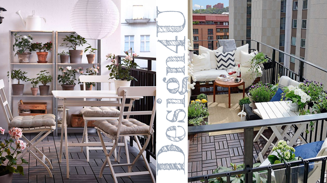 Come arredare un balcone decorate a balcony design4u for Arredare il balcone con i pallet