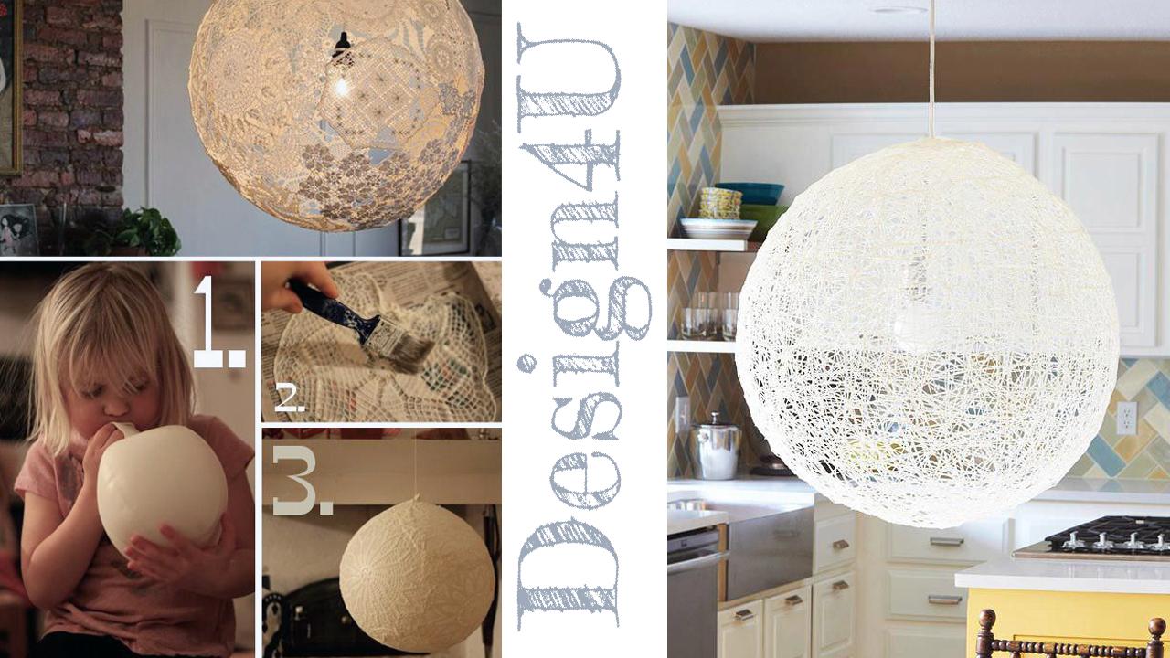 Lampadario fai da te – DIY Lamp – Design4U