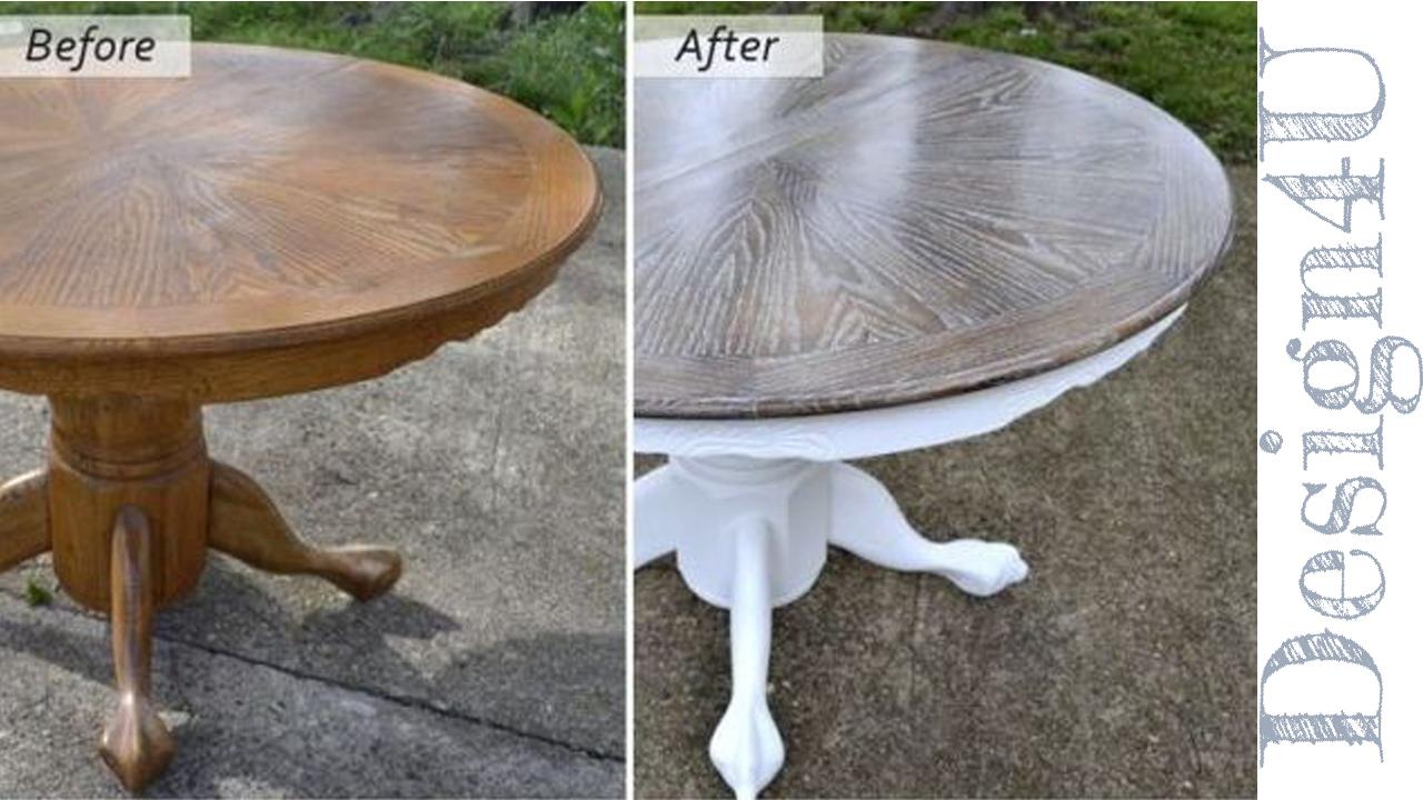 Verniciare Un Tavolo Di Legno ristrutturare un tavolo di legno – design4u